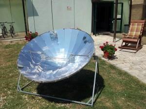 La parabola solare al Lago di Montepulciano