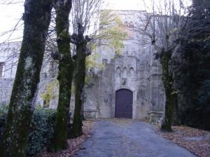 L'ingresso della Fortezza di Montepulciano