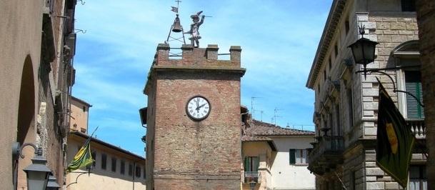 Il Mangia e la torre dell'orologio
