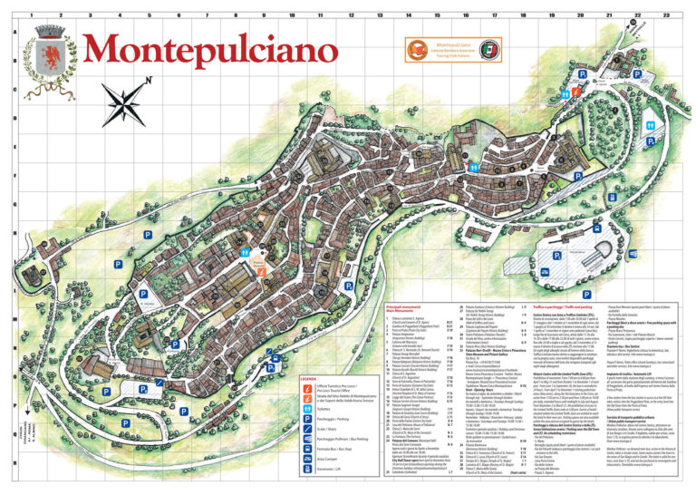 Parking in Montepulciano