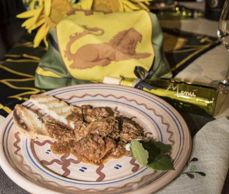 A TAVOLA CON IL NOBILE: Fagianella al cocciaccio con sughetto di pomodoro e capperi (GRACCIANO)